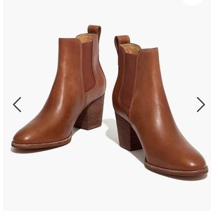 Madewell Regan Boot English Saddle Brown